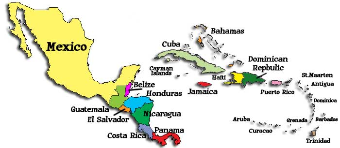 Central America Map Puzzle